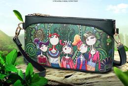 $enCountryForm.capitalKeyWord Australia - 2018 new forest series spray-painted fashion ethnic style cartoon series single-shoulder cross body women's bag hand bag wholesale