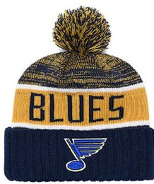 $enCountryForm.capitalKeyWord NZ - Blues Beanie Sideline Cold Weather Graphite Official Revers Sport Knit Hat All Teams winter Warm Knitted Wool Skull Cap 00