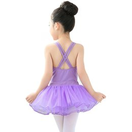 Training Jumpsuits UK - Double Harness Children's Gymnastics Clothing Cotton Body Clothing Children's Dance Training Clothing Children's Examination Grade Jumpsuit