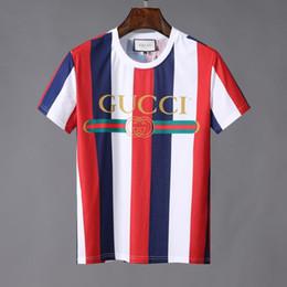$enCountryForm.capitalKeyWord Australia - 2019 famous designs 3D stripe print T-SHIRT Men shirts Italy brands t shirt Short Sleeved T-shirt Tops shorts Tee g06 Hip Hop clothing