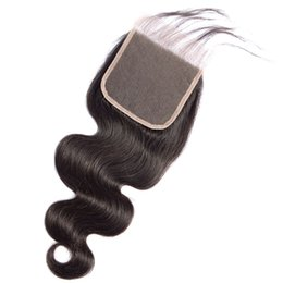 peruvian lace closure fast shipping UK - 5x5 Free Middle Part Straight Lace Closure Body Wave Affordable Cheap Burmese Human Hair Attachment New Product Pop Fast Drop Shipping 12-20