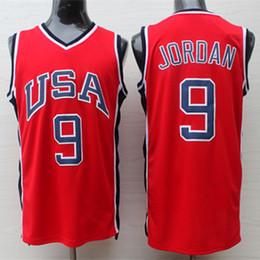 36d73ac76  9 Michael MJ 1984 Olympic Team USA Retro Basketball Jersey Men s Stitched  Jerseys