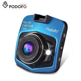 Podofo 2019 New Original Mini Car DVR Camera Dashcam Full HD 1080P Video Registrator Recorder G-sensor Night Vision Dash Cam from hidden motion detection camera recorder suppliers