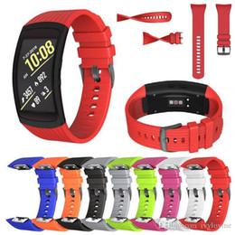 $enCountryForm.capitalKeyWord Australia - Silicone Watch band For Samsung Gear Fit2 Pro fitness Watch bands Wrist Strap For Samsung Gear Fit 2 SM-R360 Bracelet