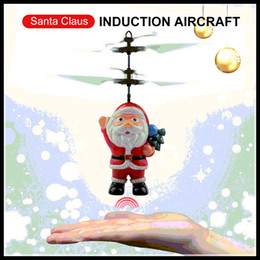 Wireless remote control 12 online shopping - Hot Flying Inductive Mini RC Drone Christmas Santa Claus Induction Aircraft RC Helicopter for Kids Christmas Gifts