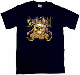 China Death Metal Guitars Logo Mens Tee Shirt Pick Size Color Small-6XL 2018 New Tee Print Men T-Shirt Top Quality 100% cotton cool suppliers