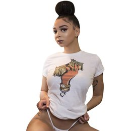 $enCountryForm.capitalKeyWord Australia - Women INS Hot Tshirts Summer Designer Dollar Printed Fashion Hot Street Tees Tops