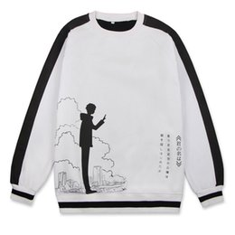 Cosplay names online shopping - anime costume cosplay Cotton Unisex Anime Your Name Spring Hoodies Costumes Cosplay For Woman Man Pluz Size