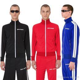 $enCountryForm.capitalKeyWord Australia - Palm Angels Jacket Purple Black Track Jackets Men Women Striped Zipper Hoodie Jacket fashion Brand Tracksuits Jogger Sportswear PXG1108