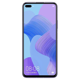 "Original Huawei Nova 6 4G LTE Cell Phone 8GB RAM 128GB ROM Kirin 990 Octa Core Android 6.57"" Full Screen 40.0MP AI NFC 4100mAh Fingerprint ID Face Smart Mobile Phone on Sale"