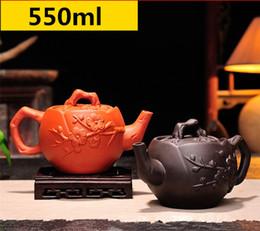 $enCountryForm.capitalKeyWord NZ - Raw ore purple sand pot purely manual teapot brewing household brewing teapot purple clay tea set 550ml large capacity kung fu tea pot
