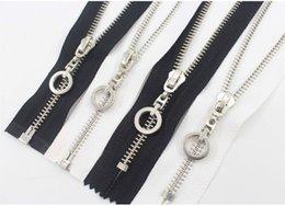 $enCountryForm.capitalKeyWord NZ - 1pcs Black&white end-open closed 5# 15cm-70cm,1pcs metal zipper,DIY clothing accessories,Tailor Sewing Tools Garment Accessories