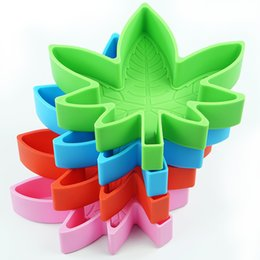 Wholesale 3D Leaf Leaves Silicone Cake Mould Fondant Molds Baking Decorating tool Non-Stick Handmade Chocolate Candy Mold baking tools