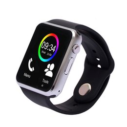 $enCountryForm.capitalKeyWord Australia - A1 Smart Watch Wristband Android Watch Smart Support SIM TF card Intelligent Mobile Phone Sleep State Smart Watch Cradle Design for Android