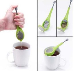 Make Gadgets Australia - Tea Infuser Gadget Stainless Steel Teas Strainers Food Grade PP Infuser Make Tea Infuser filer Silicone gel Coffee Strainer GGA2059