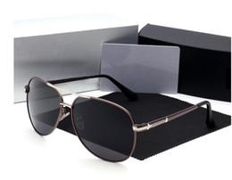 $enCountryForm.capitalKeyWord Australia - Designer Brand New Gun Gray High Quality Men Women Retro UV Protection Sunglasses Unisex Eyewear Metal & Alloy Frame Glasses Polarized UV400