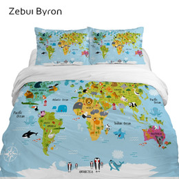 kids cartoon bedding set queen size NZ - 3D children's bedding sets luxury,bed set Queen  King Twin Full size,Cartoon duvet cover set for baby kids boys,