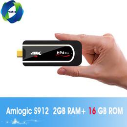 $enCountryForm.capitalKeyWord NZ - H96 Pro H2 4k Mini TV Stick Octa Core Amlogic S912 DDR3 2GB ROM 16GB Android 7.1 2.4G Wifi HD2.0 Smart Android TV box Media Player MQ05