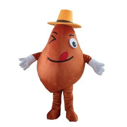 potato mascot 2019 - 2019Custom Potato Mascot Costume Adult Size Costume With A Mini Fan Inside Head For Commercial Advertising Carnival Part