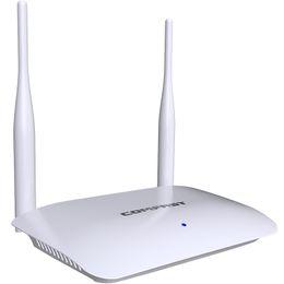 Setup Wifi Australia - Comfast 300Mbps Wireless WiFi Router Wi-Fi Router  AP Mode External 2*5dBi Antenna for Home Easy Setup