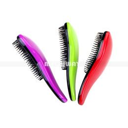 Detangle brushes online shopping - 7 Colors Elite Tangle Detangling Hair Brush Portable Magic Antistatic TT comb Hair Probucts Detangle tangle Hair Brush Styling Combs