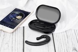 Venta al por mayor de 2019 venta caliente Earhook Wirless Earphone, 5D sonido puro bluetooth auriculares auriculares inalámbricos bluetooth 5.0 con base de carga impermeable
