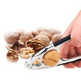 $enCountryForm.capitalKeyWord UK - 16.5CM Manual Stainless Steel Nut Cracker Clip Mechanical Sheller Walnut Nutcracker Fast Opener Non-slip Handle Kitchen Tools