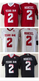 $enCountryForm.capitalKeyWord NZ - Cheap custom Texas A&M Aggies Johnny Manziel #2 College Football Jersey Stitched XS-3XL