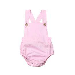 $enCountryForm.capitalKeyWord Australia - Hot Sale Baby Boy Girl Cotton Romper 2019 Newest Arrival Summer Newborn Infant Baby Girl Boy Sleeveless Romper Jumpsuit Sunsuit