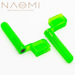 guitar winder Australia - NAOMI 2PCS Guitar String Winder Peg Winder Acoustic Electric Colorful Guitar String Winder-GR Guitar Parts Accessoreis New
