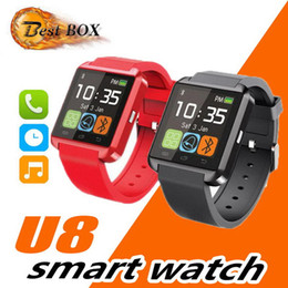 $enCountryForm.capitalKeyWord Australia - U8 Smart Watch Bluetooth Wrist Watches Altimeter Smartwatch for Apple iPhone 6  6 PLUS Samsung S6 Note Android HTC phones Smartphones