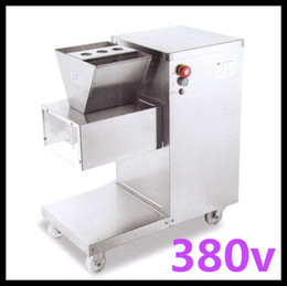 food process machine UK - Wholesale - Free shipping 380v QW meat cutting machine QW meat slicer cutter 800kg hr meat processing machine