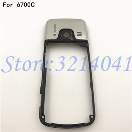 middle frames housing NZ - Original 6700C High Quality Replacement Part Middle Frame Housing Case Cover For Nokia 6700C 6700 Classic