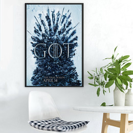 $enCountryForm.capitalKeyWord NZ - GOT Poster Game Of Thrones Season 8 Lord of the Rings Canvas Painting HD Wall Picture Poster And Print Decorative Home Decor