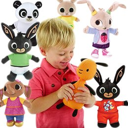 Wholesale original bing plush toy sula flop hoppity voosh pando bing bunny rabbits coco doll peluche dolls toys children plush toys