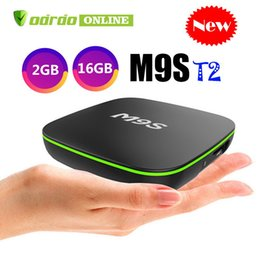 $enCountryForm.capitalKeyWord Australia - Original M9S T2 Android 7.1 TV Box 1GB 8GB 2GB 16GB eMMC Flash 4k Allwinner H3 Streaming Media Player BETTER Amlogic S905W TX3 X96 T95Z TX6