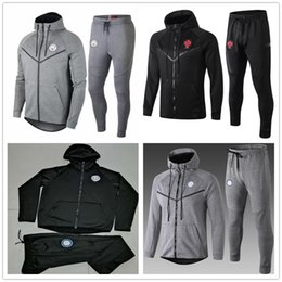 0cd8094ff Real madRid hoodie online shopping - 2019 psg Real Madrid chandal futbol soccer  jacket hoodie Champions