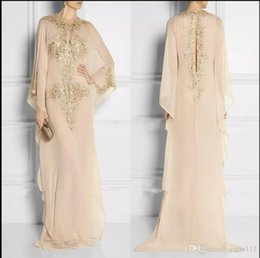 ClassiC Clothing for women online shopping - 2019 New Long Crystal Muslim Evening Dresses Clothing For Women In Dubai Jewel Neck Chiffon Evening Gowns Party Prom Gowns vestidos de novia