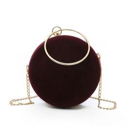 Ladies Lace Handbags Australia - Women's Designer Handbag 2019 Fashion New Quality Woolen Ladies Tote Bag Metal Ring Hand Chain Shoulder Messenger Bag Party Bags