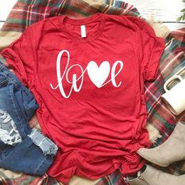$enCountryForm.capitalKeyWord NZ - T-shirt All You Need Is Love Tees Xoxo T Unisex Valentines Day Shirt Women Causal Red Cotton Tshirt Drop C19041801