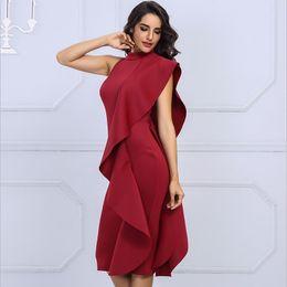 e4eeb5a400 Backless v cut Bodycon dress online shopping - Hot Sexy Women Cocktail Long  Sleeve V Neck