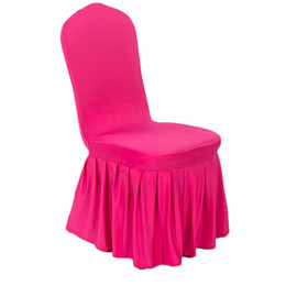 $enCountryForm.capitalKeyWord Australia - 2019 New Modern Banquet Decoration Chair Cover Spandex Elastic Chair Covers for Weddings Hotel Kitchen Dining Seat Covers