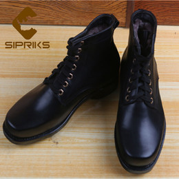 Sipriks Big Euro Size 36-47 Winter Keep Warm Wool Boots Italian Goodyear  Welt Shoes Lace Up Martin Boots Mens Cowboy Snow 23abd1781bd6