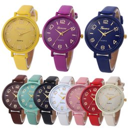 $enCountryForm.capitalKeyWord Australia - 2019 Women Watches Geneva Watch Small Faux Leather Quartz Analog Wrist Watch Ladies Bracelet Watch Hot Sale relogio feminino
