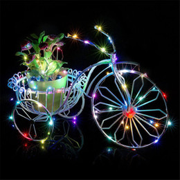 Wine bottle decorations for Weddings online shopping - 2m Wine Bottle Lights Colors Bottle Stopper LED String For Bar Christmas Wedding Party New Year Decoration Battery Powered