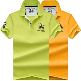 polo embroidery Australia - High Quality Tops Men Polo Shirts Business Plus Size Polo Shirts Pure Color Embroidery Lapel Soft Men Short Sleeves Polo Shirt