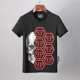 stamp t shirts Australia - Tide brand star same cotton large size T-shirt Japanese hot stamping youth high quality short sleeve loose trend men's shirt