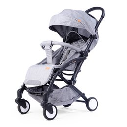 China Original Baby Stroller Folding Baby Carriage Lightweight Pram For Newborn Portable Pushchair Babyzen Stroller cheap lightweight strollers folded suppliers