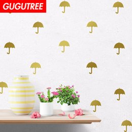 $enCountryForm.capitalKeyWord NZ - Decorate Home umbrella cartoon art wall sticker decoration Decals mural painting Removable Decor Wallpaper G-2347
