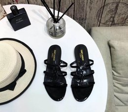 $enCountryForm.capitalKeyWord Australia - 2019 ysl Brand new Sexy shoes Woman Summer Buckle ysl Flatforms shoes Pointed toe Designer Sandals Flatforms Fashion Shoes In Stock